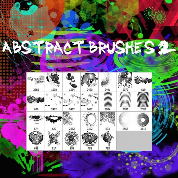 abstract brushes 2