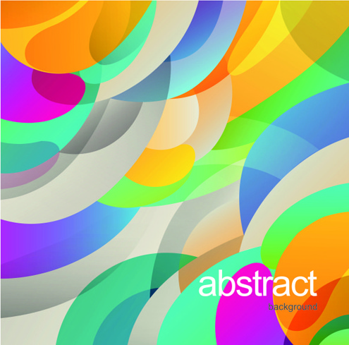 abstract colored combination vector background