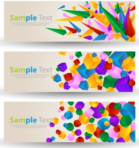 abstract colorful banner free vector in encapsulated postscript eps