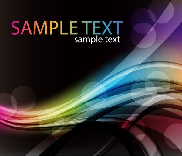 Abstract Colorful Desgin Background Vector
