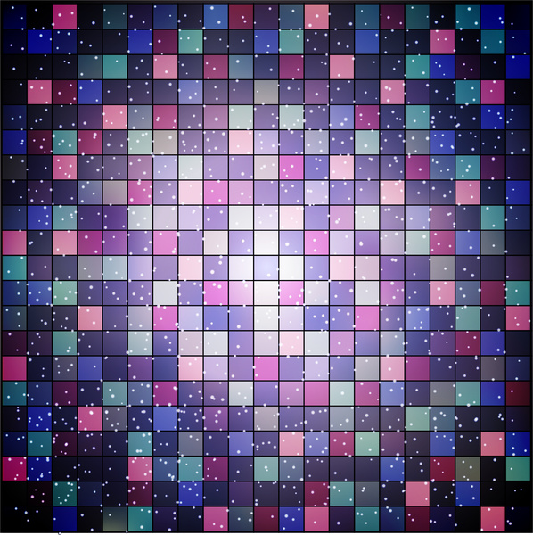 abstract colorful grid checkerboard background
