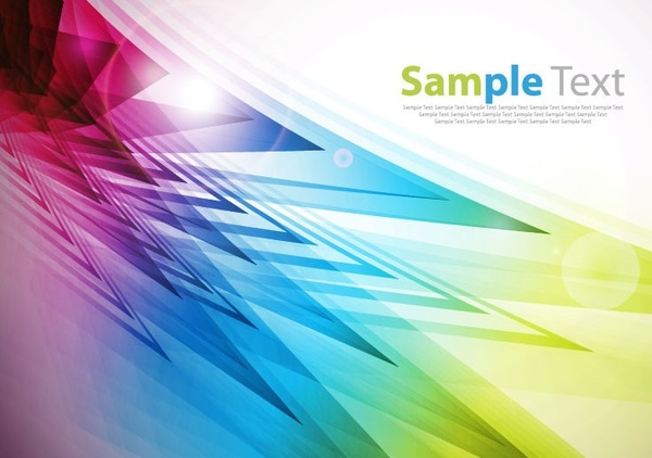 abstract colorful motion vector background