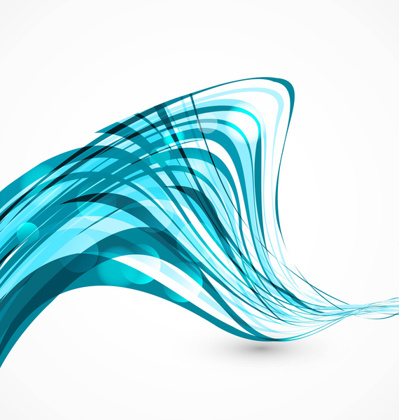 abstract colorfull blue line technology vector free vector in