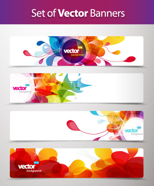 Abstract Creative Banner Free Vector Free Vector In