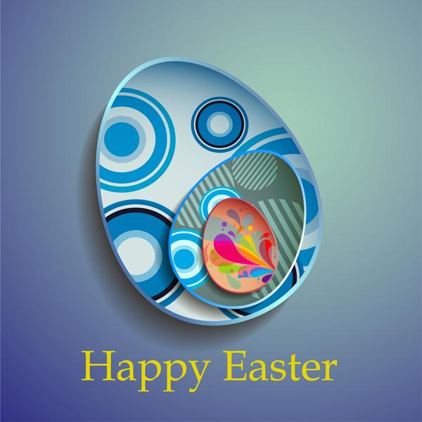 abstract decor easter egg