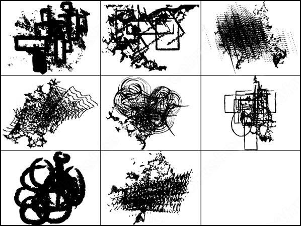 abstract elements free vector and photoshop brush
