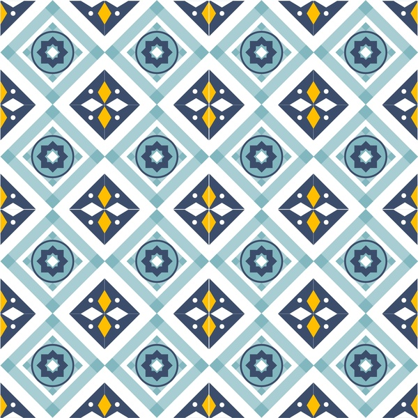 abstract geometric pattern design with repeating style