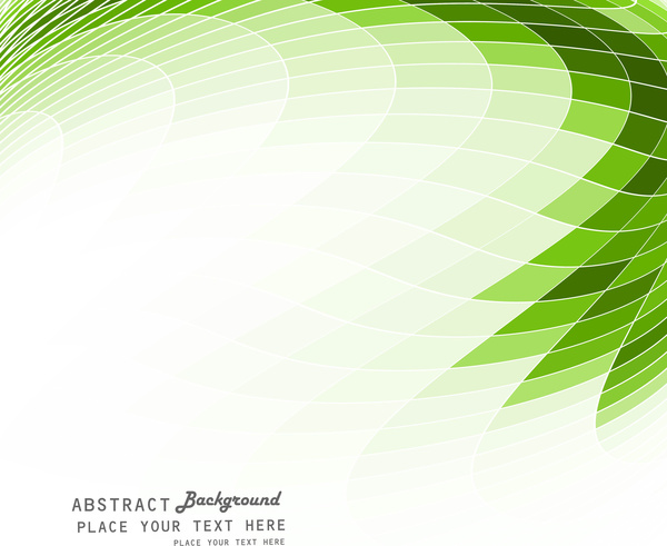 Abstract Green Colorful Mosaic Background Vector