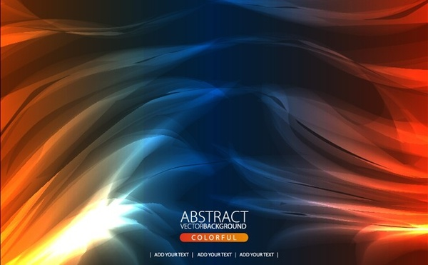 abstract swirling background colored light effect