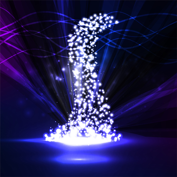 Theater Lights Background: Stage Lighting Background Free Vector Download (52,461