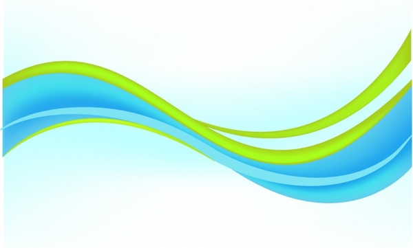 Abstract Modern Background Blue And Green Free Vector In
