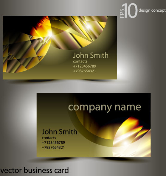 Abstract of shiny business cards vector free vector in adobe abstract of shiny business cards vector colourmoves