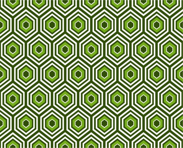 abstract pattern design green geometric seamless style