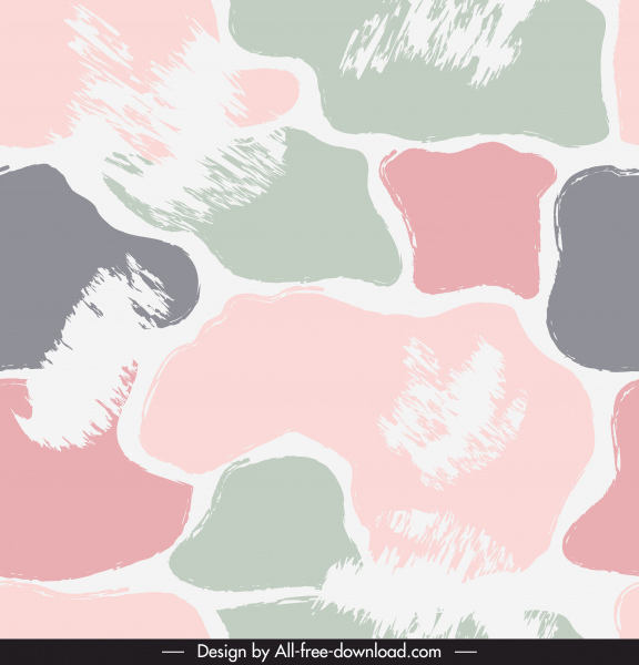 abstract pattern template retro colorful flat grungy decor