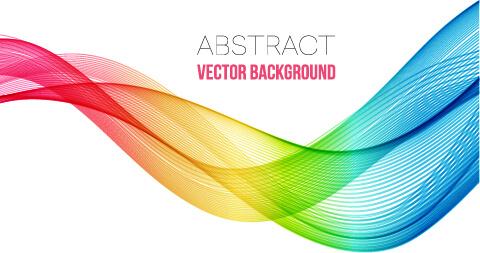 abstract silk cloth art background vector