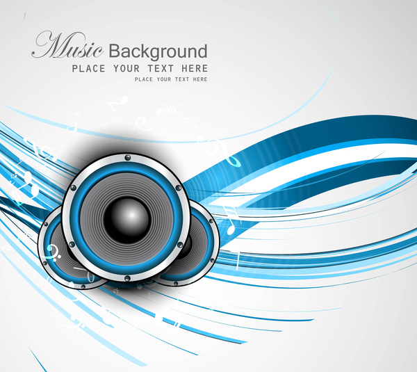 Abstract Speakers Art