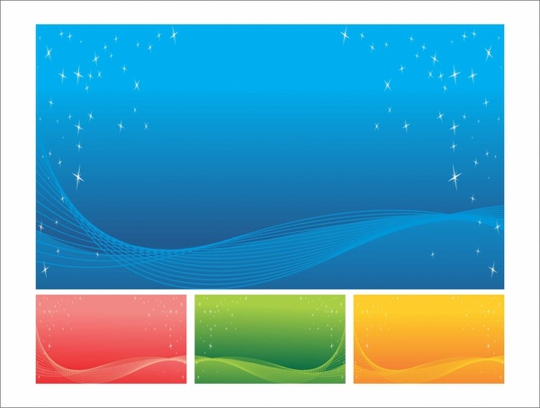 Abstract swoosh background