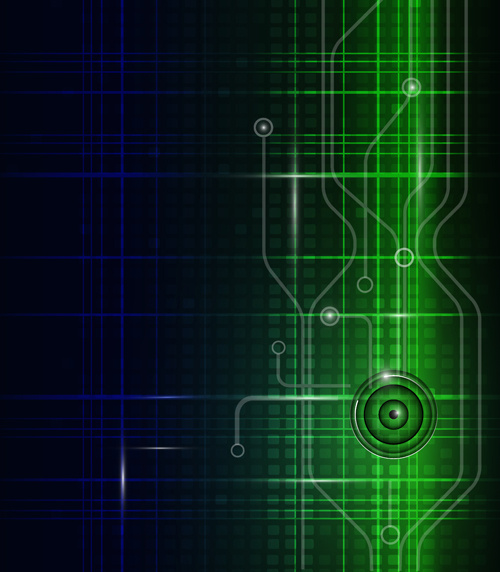 abstract technology pattern vector background
