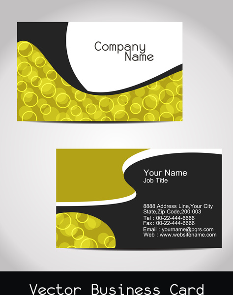 Abstract visiting card design free vector in encapsulated postscript abstract visiting card design reheart Images