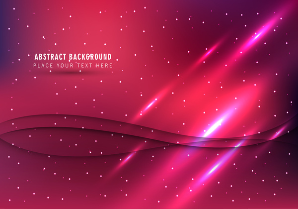 abstract wave and light red background
