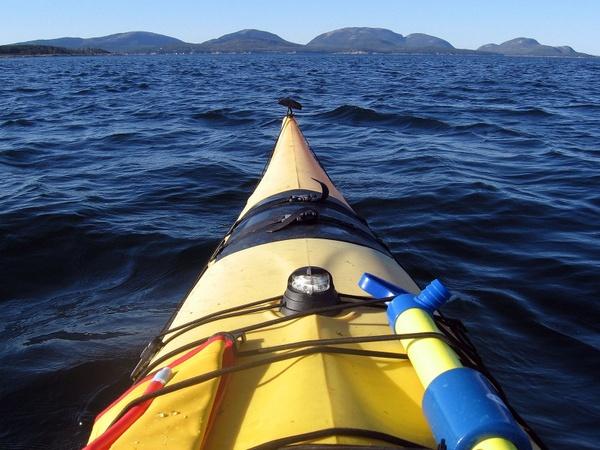 acadia national park maine kayaking