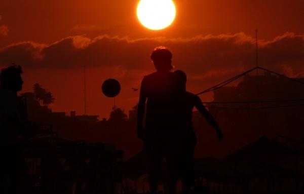 acapulco football beach