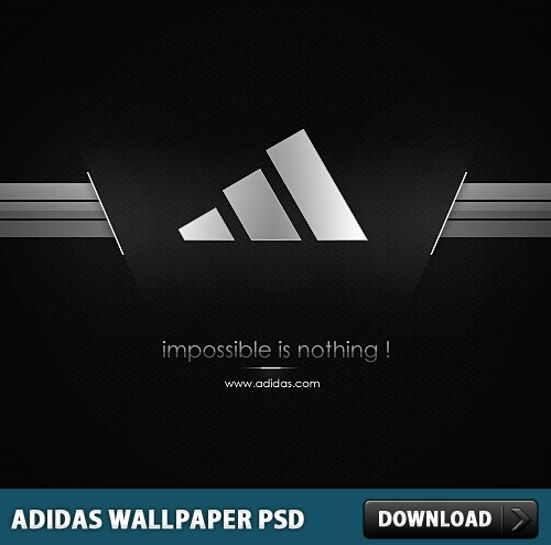 Adidas Wallpaper PSD File