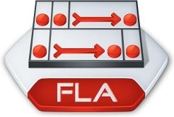 Adobe flash fla