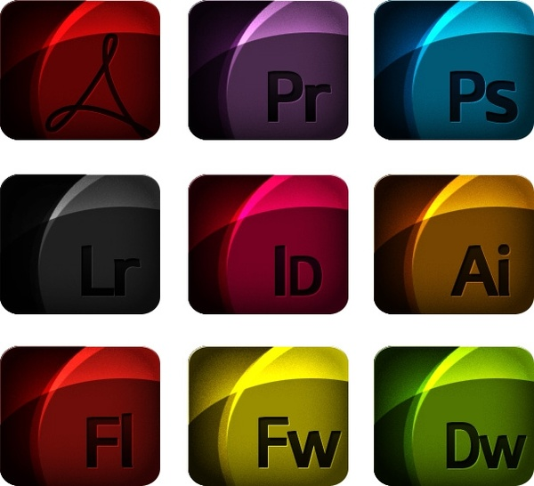 Adobe Icons icons pack