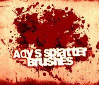 Ady's Splatter Brushes