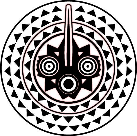 african tribal mask free vector in encapsulated postscript eps