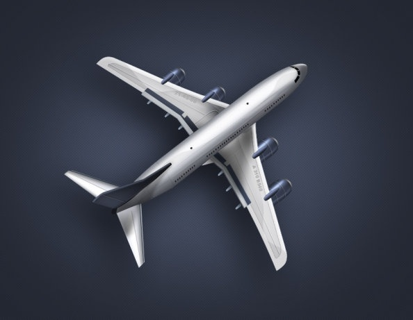 airplanes psd layered
