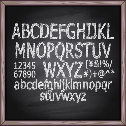 chalkboard free vector download  86 free vector  for