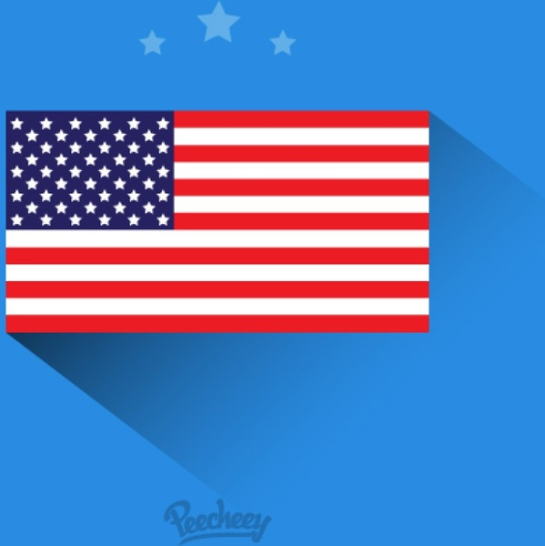 Torn American Flag Vector Free Vector Download 3166 Free