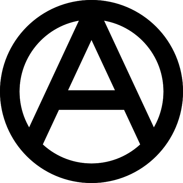 Anarchy Symbol Clip Art Free Vector In Open Office Drawing Svg