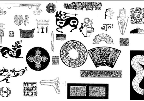 ancient pattern pattern 02 vector