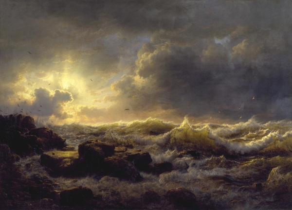 andreas achenbach sea ocean