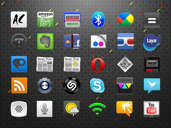 Android Icons Set icons pack
