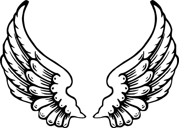 angel wings clip art free vector in open office drawing svg svg rh all free download com free clip art angels wings free clip art angels flying