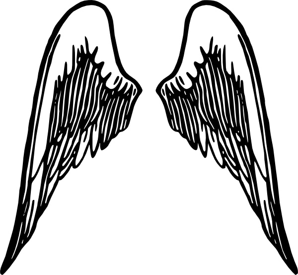 angel wings tattoo clip art free vector in open office drawing svg rh all free download com clipart angel wings vector free download clipart angel wings vector free download