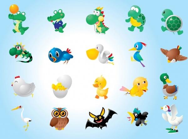 Animal Character Illustrations