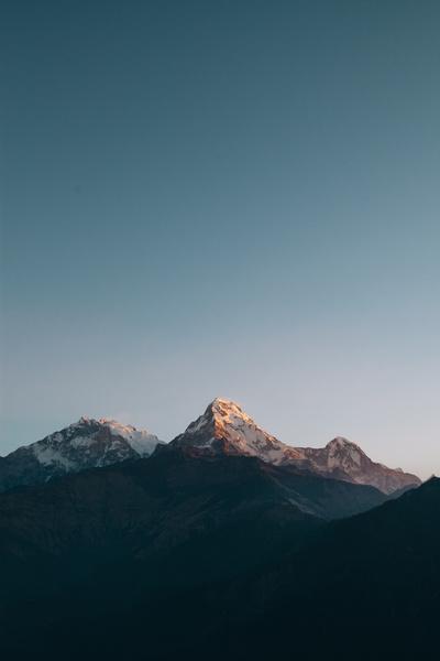 annapurna mountains