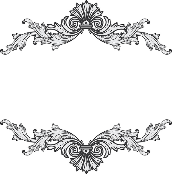 Antique Frame Free Vector In Encapsulated Postscript Eps