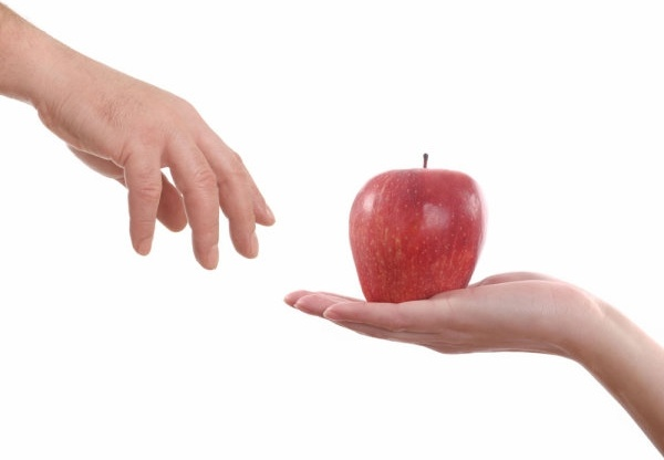 apple and the person39s hand 02 hd pictures