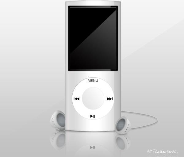 apple apple39s ipod nano psd layered source files
