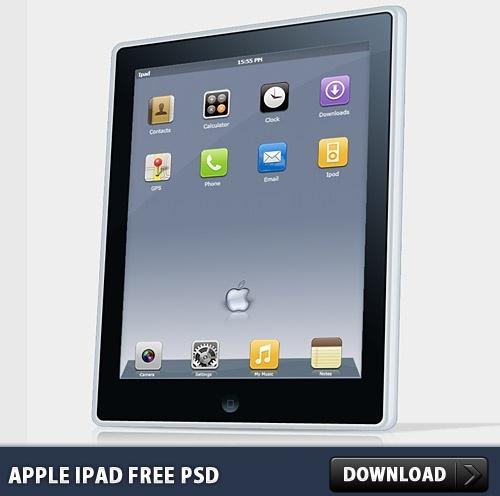 Apple Ipad FREE PSD