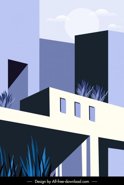 architecture exterior template elegant contemporary design