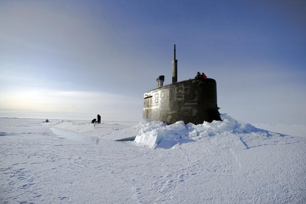 arctic ocean submarine us navy