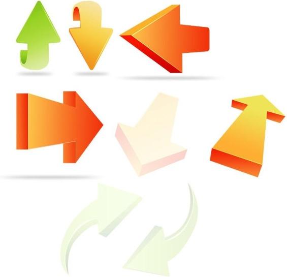 arrow icon psd layered