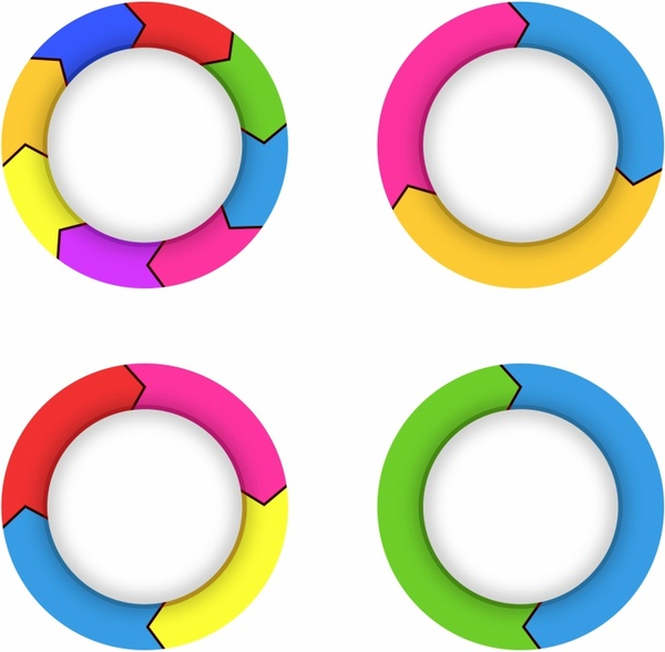 Arrows in a Circle Flow